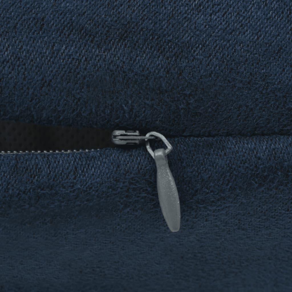 Acheter vidaxl housse de coussin 4 pcs 40x40cm polyester for Housse coussin pas cher