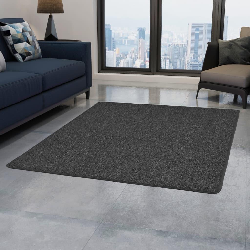 vidaXL Teppich Getuftet 160 x 230 cm Anthrazit
