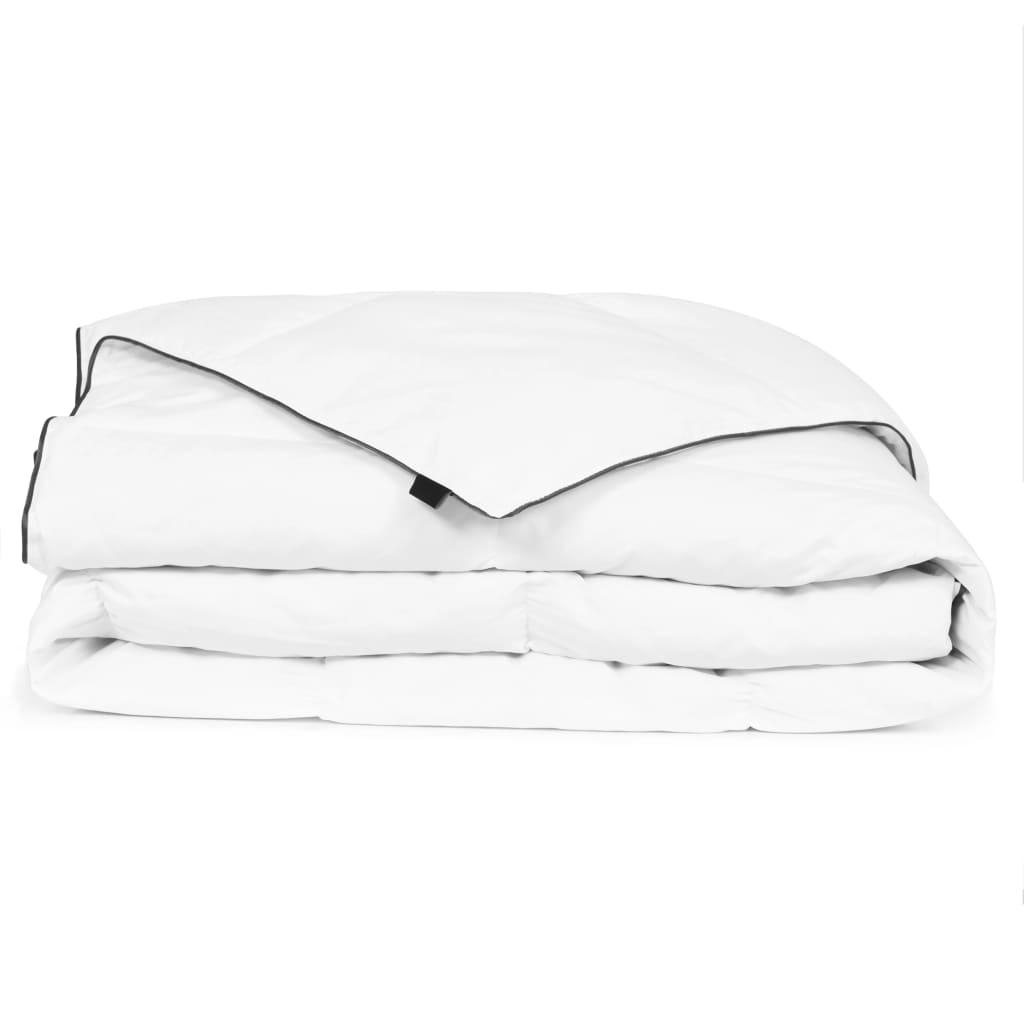 vidaXL téli, fehér pehelypaplan 150 x 200 cm