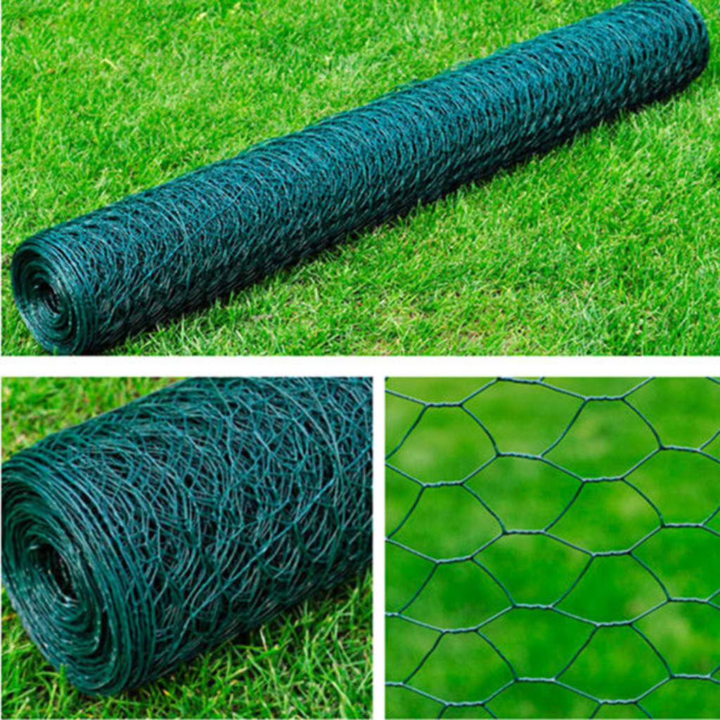 NEW Garden Fencing Hexagonal Wire Netting PVC-coated ...