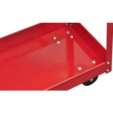 Workshop Tool Trolley 220 lbs. Red[4/4]