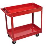 Wózek warsztatowy czerwony (100 kg)