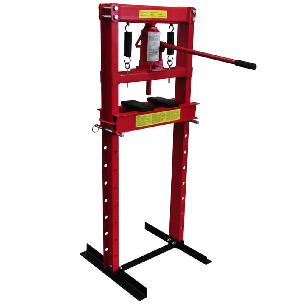 12 ton hydraulic heavy duty floor shop press