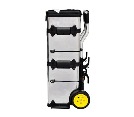 Carrello carrellino trolley porta attrezzi portatile - Carrello porta bombola ossigeno portatile ...