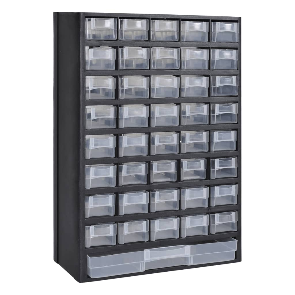 41 drawer plastic storage cabinet tool box. Black Bedroom Furniture Sets. Home Design Ideas