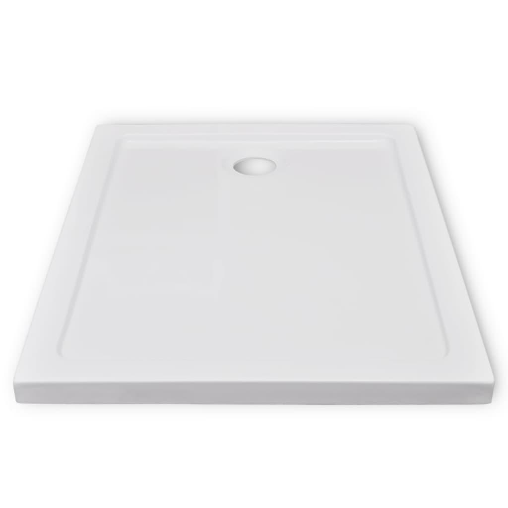 Plato de ducha rectangular 70 x 90 cm for Plato de ducha 70 x 80