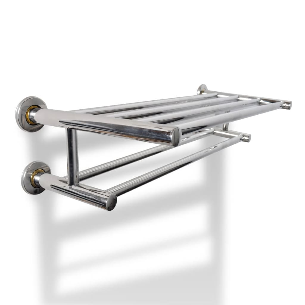 New-Stainless-Steel-Towel-Rack-Towel-Rails-6-Tubes-High-quality-Wall-Mounted