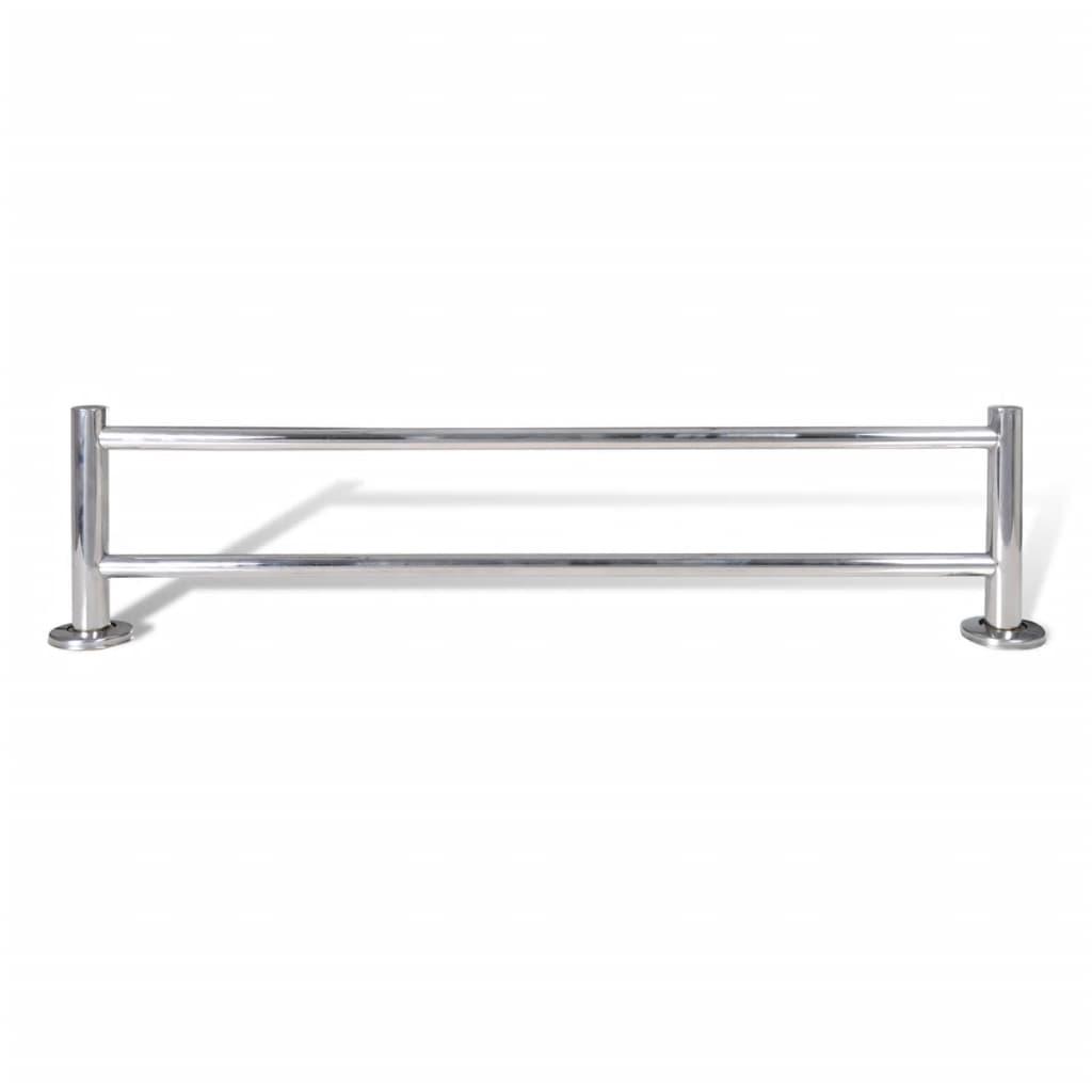 Toallero de acero inoxidable 2 tubos tienda online for Toallero acero inoxidable