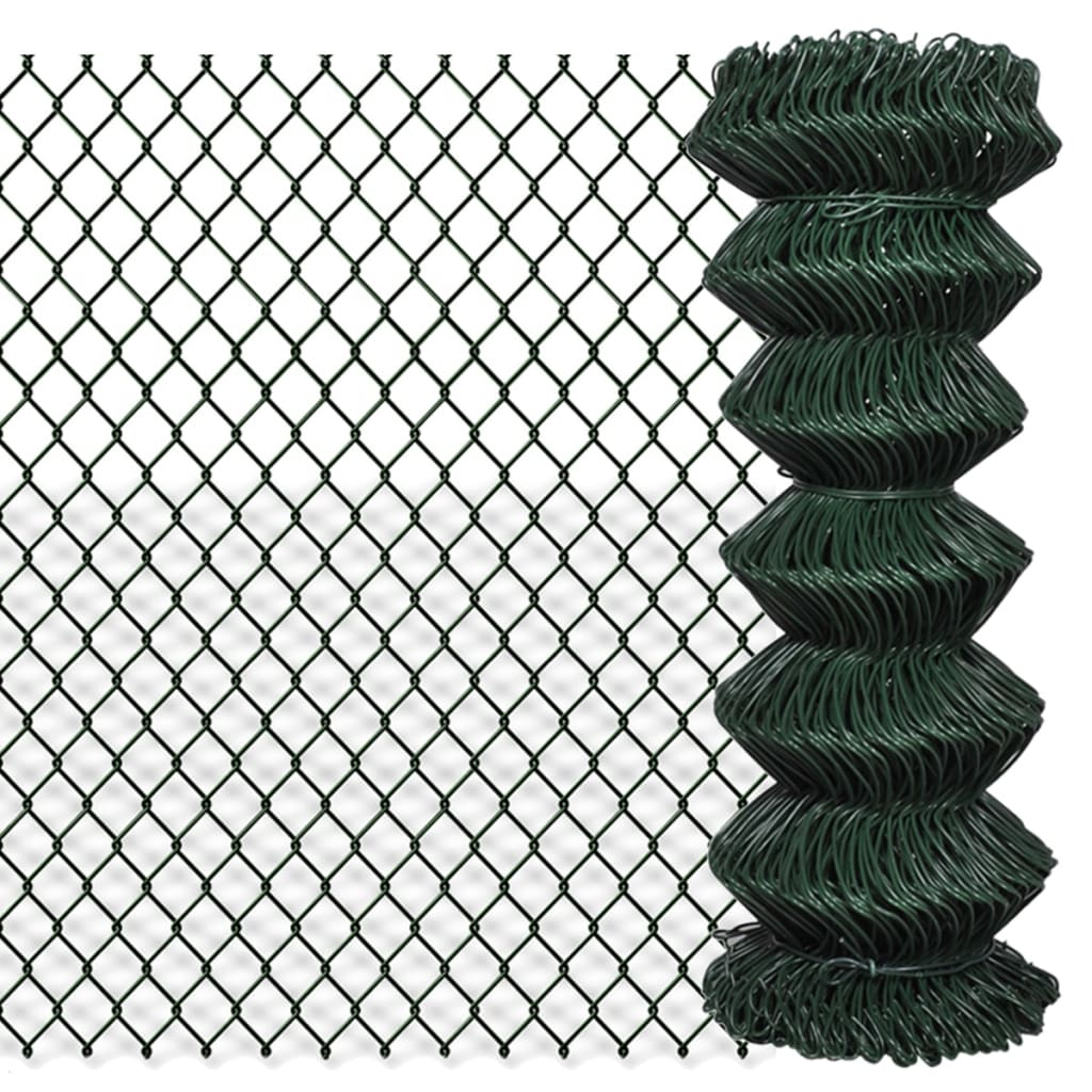 Patio Chain Link Fence Rolled Roll Wire Mesh Garden Outdoor Border ...