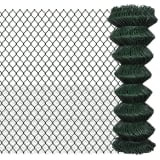Chain Fence 1.25 x 15 m Green