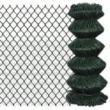 Recinzione recinto in rete metallica galvanizzata 0,8 x 25 m verde