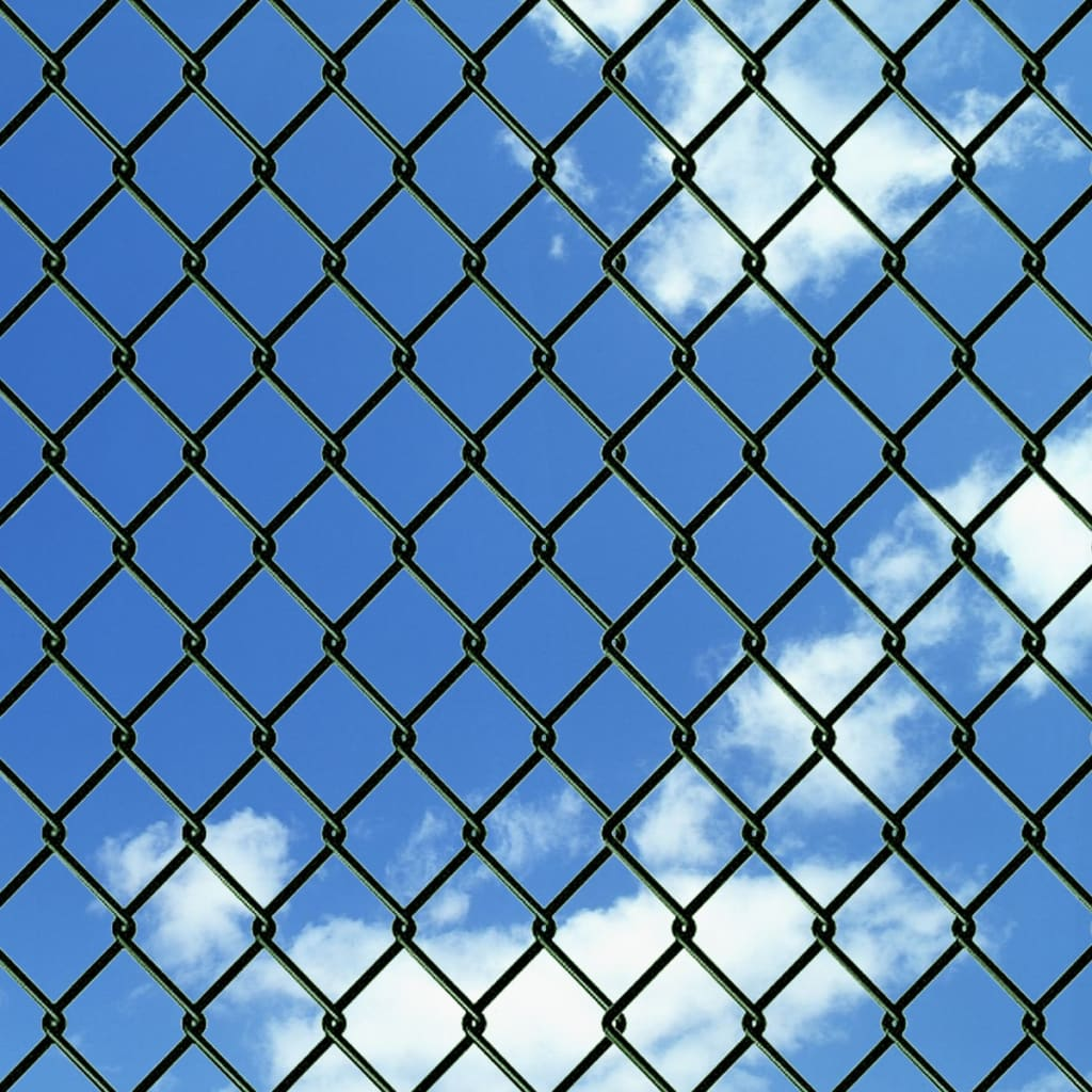 8 Sizes Galvanized Chain Link Steel Wire Mesh Fence Post