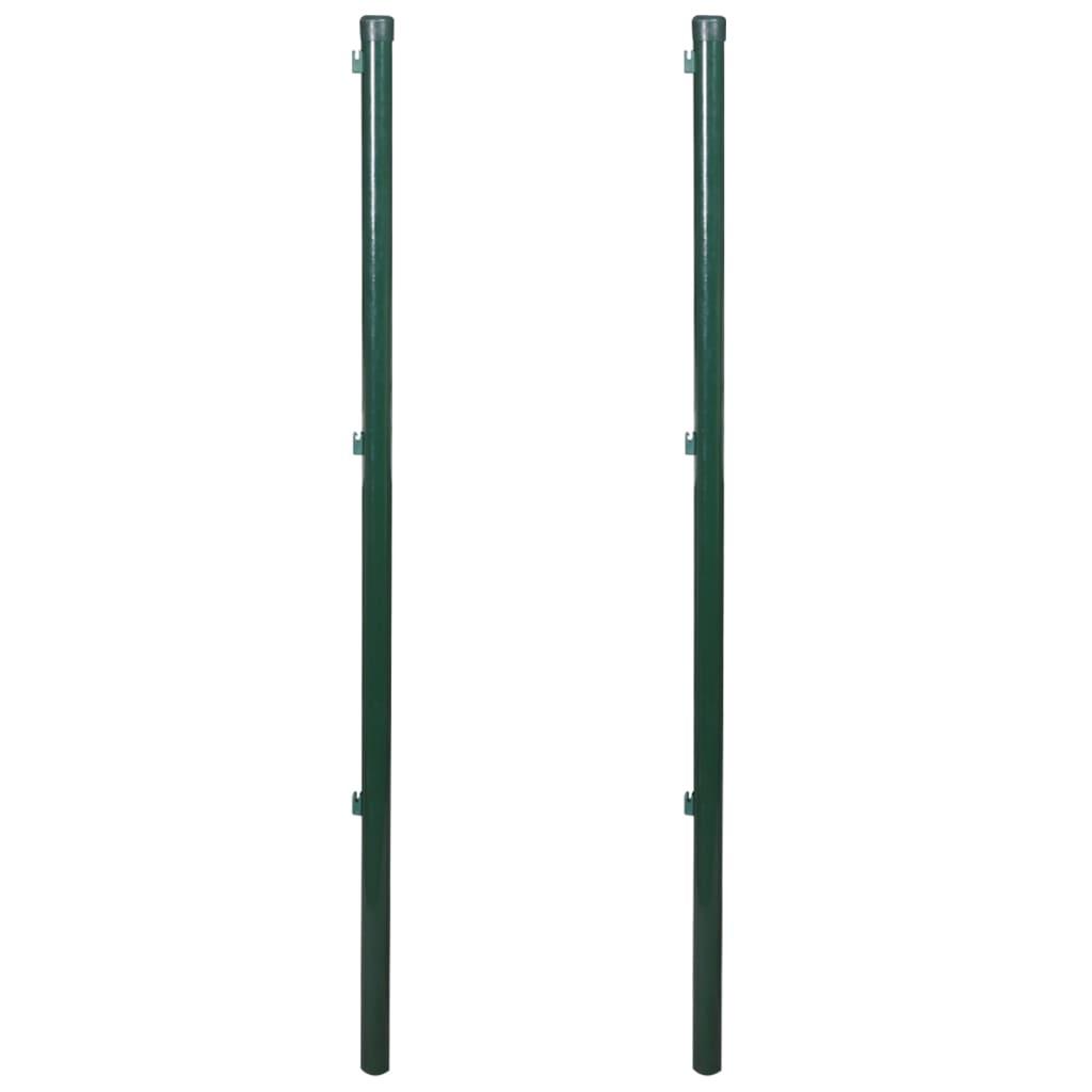 Stängselstolpar 175 cm 2-pack