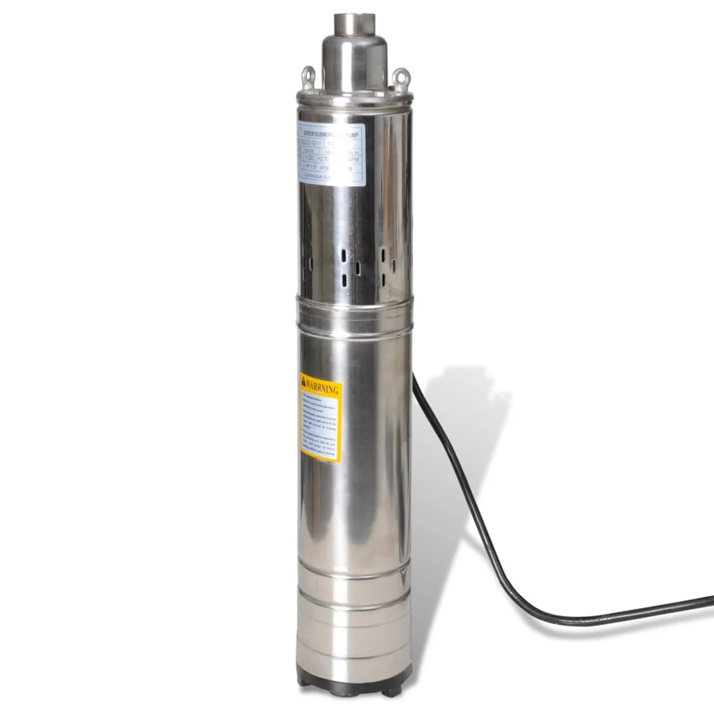 Submersible Pump Deep Well 1100w 102m