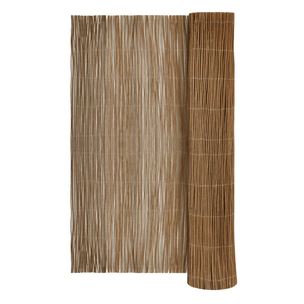 vidaXL Willow Fence 120 x 500 cm