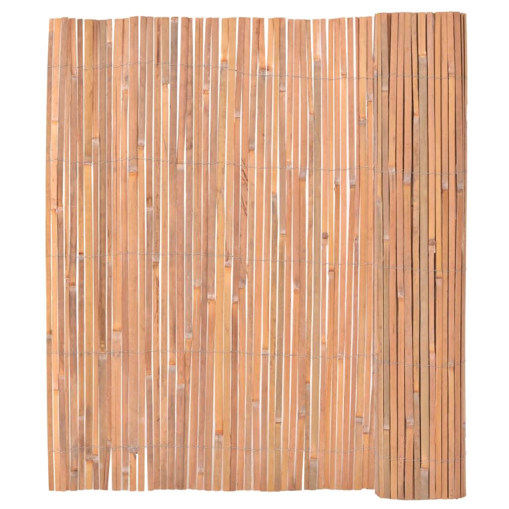 vidaXL Bambusz Kerítés 150 x 400 cm