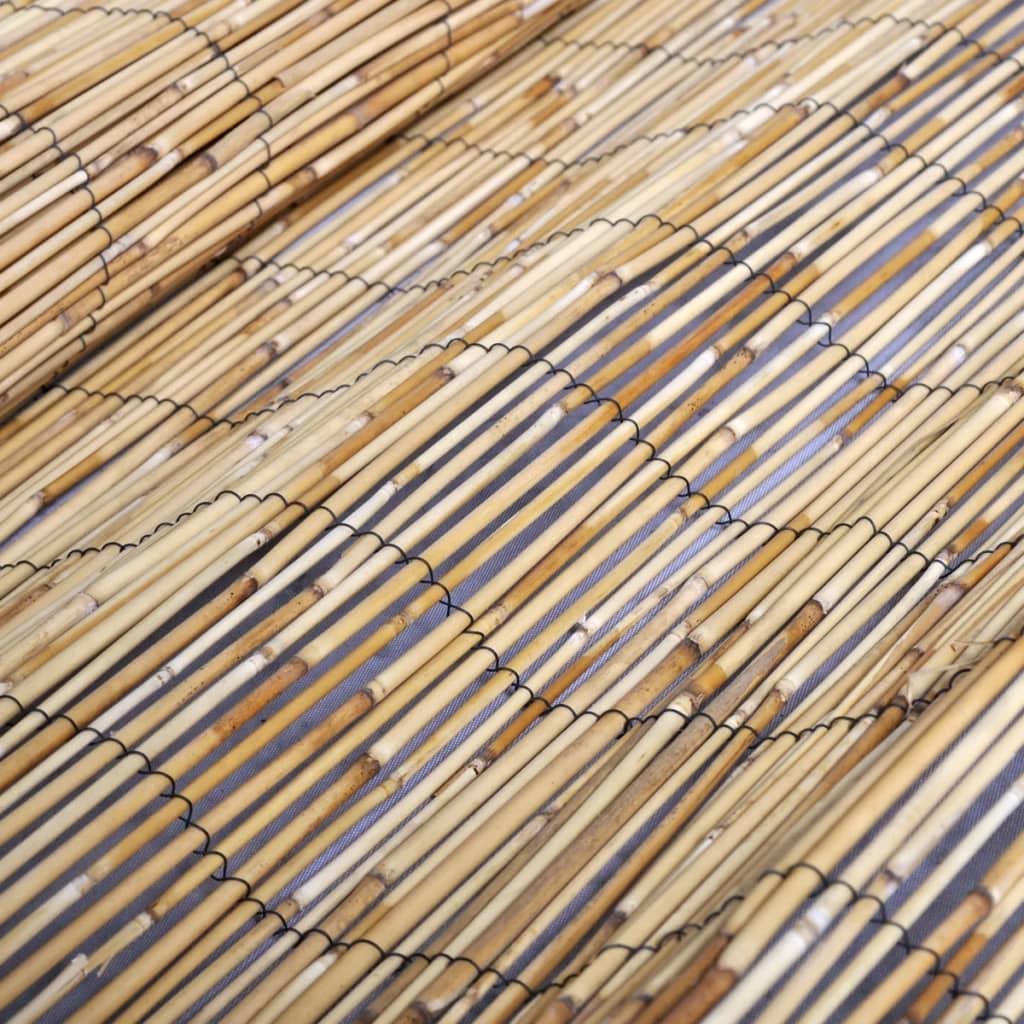 schilfrohrmatte schilf sichtschutz zaun naturmatte 150 x. Black Bedroom Furniture Sets. Home Design Ideas