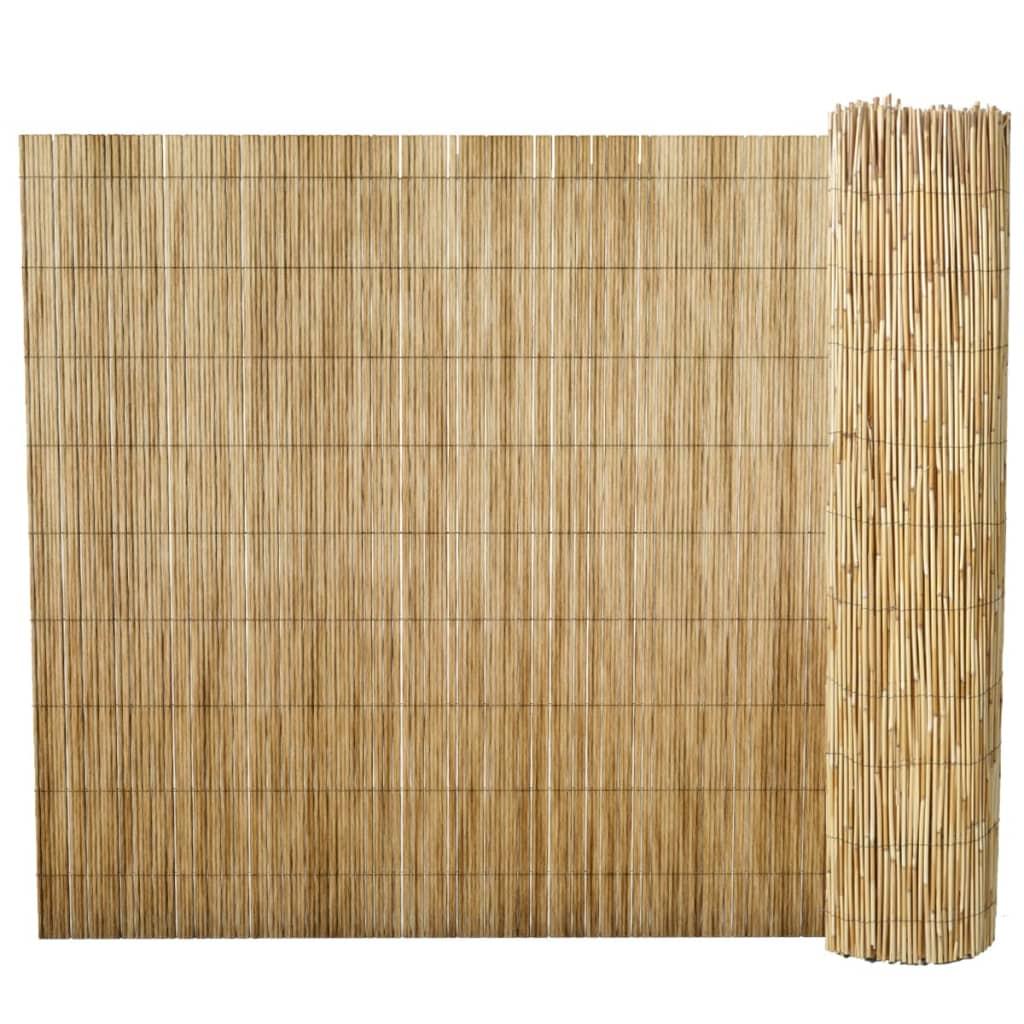 vidaXL Nádkerítés 150 x 500 cm