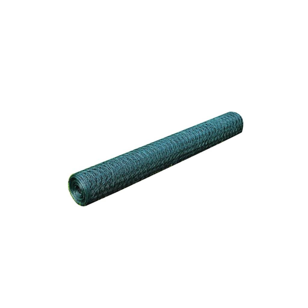 Grillage-plastifie-a-mailles-hexagonales-1-m-x-25-m-0-8-mm-d-epaisseur-PVC