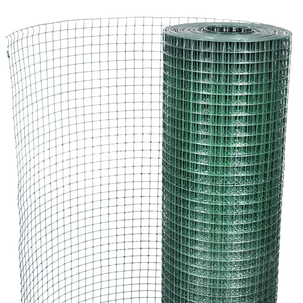 square wire netting 1x25 m pvc coated galvanized mesh size 25x25 mm. Black Bedroom Furniture Sets. Home Design Ideas