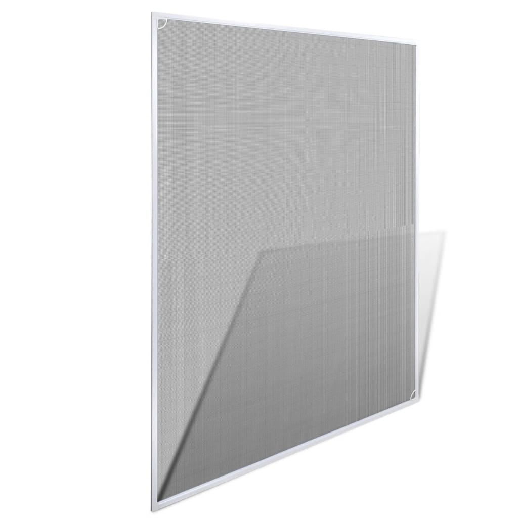 Insect screen window 100 x 120 cm white for Window insect screen