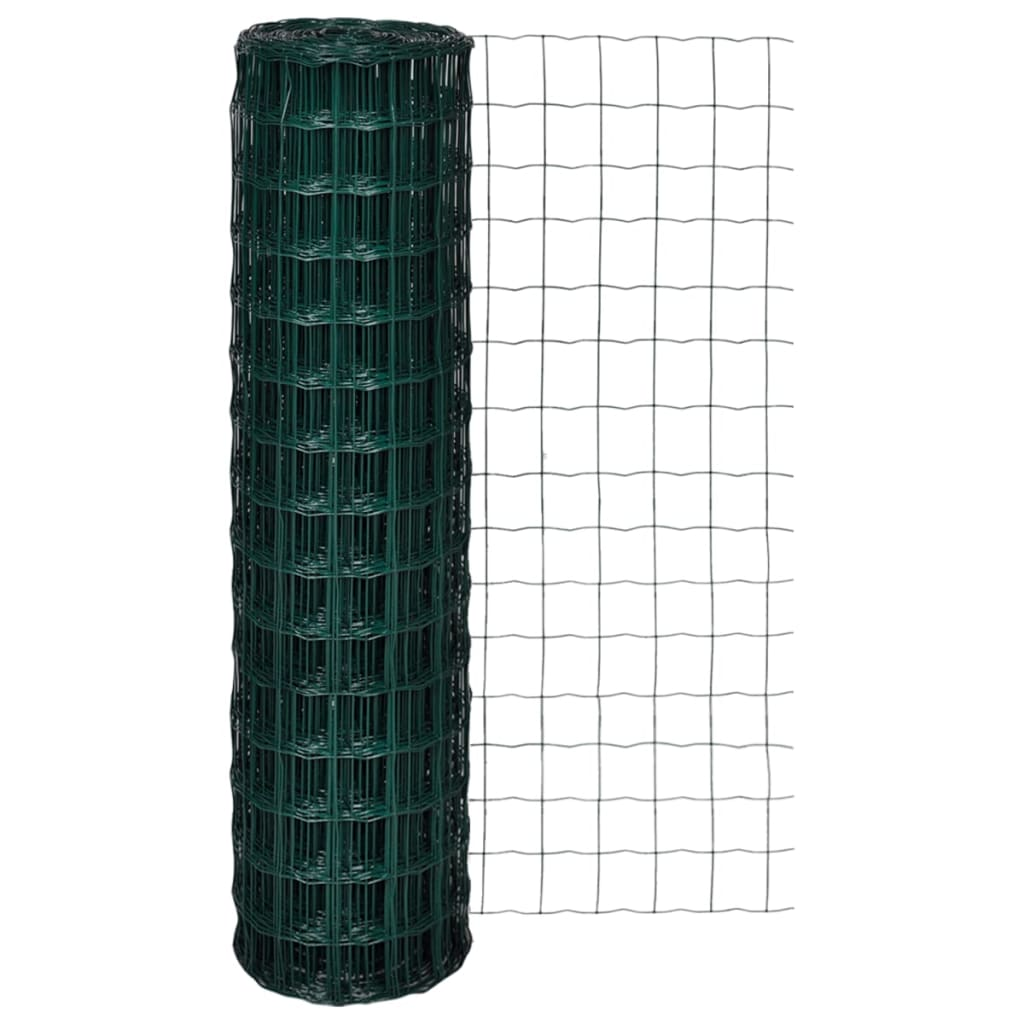 vidaXL Euro Fence 10 x 1,5 m with 100 mm Mesh