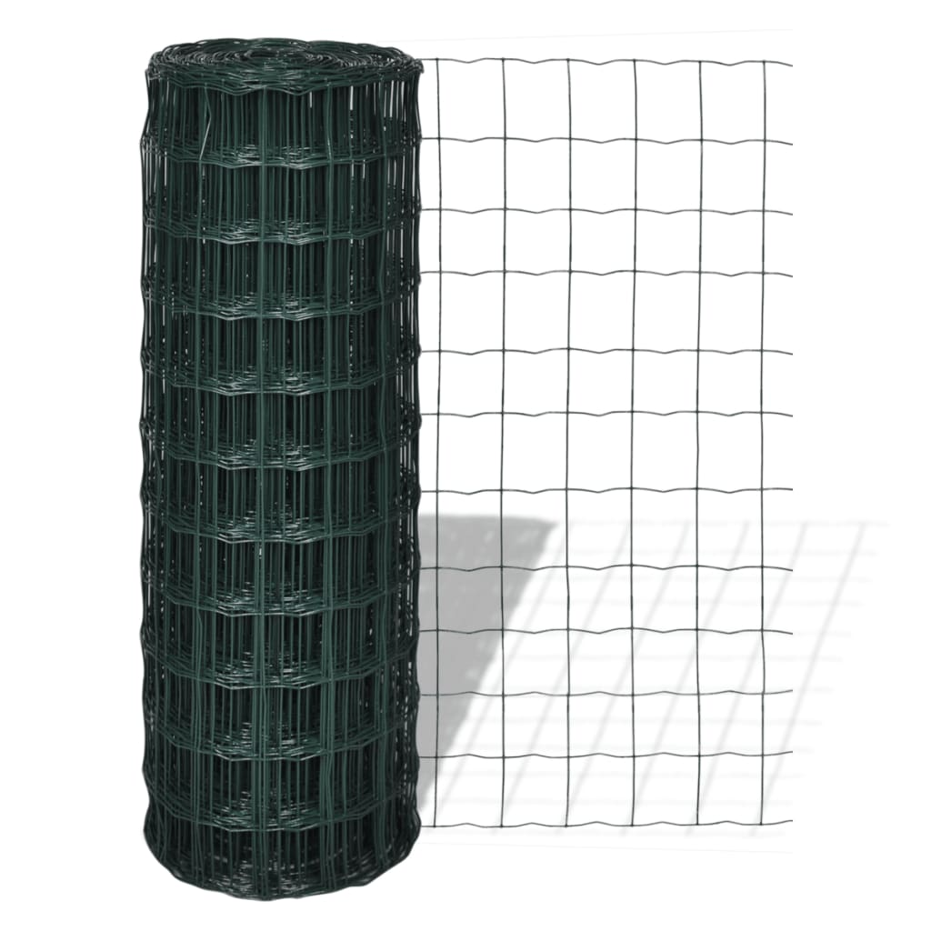 vidaXL Euro Fence 10 x 1,8 m with 100 mm Mesh