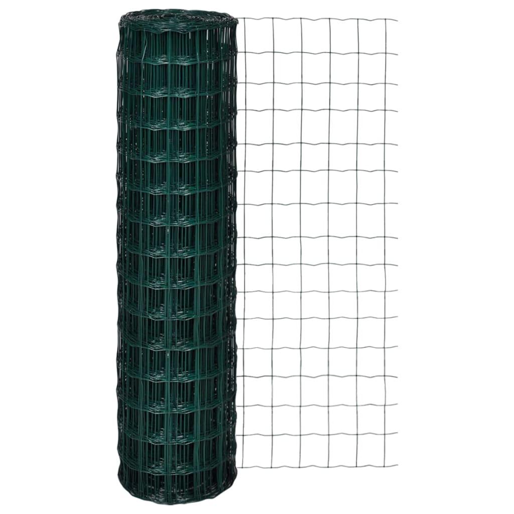 vidaXL Euro Fence 25 x 1,5 m with 100 mm Mesh