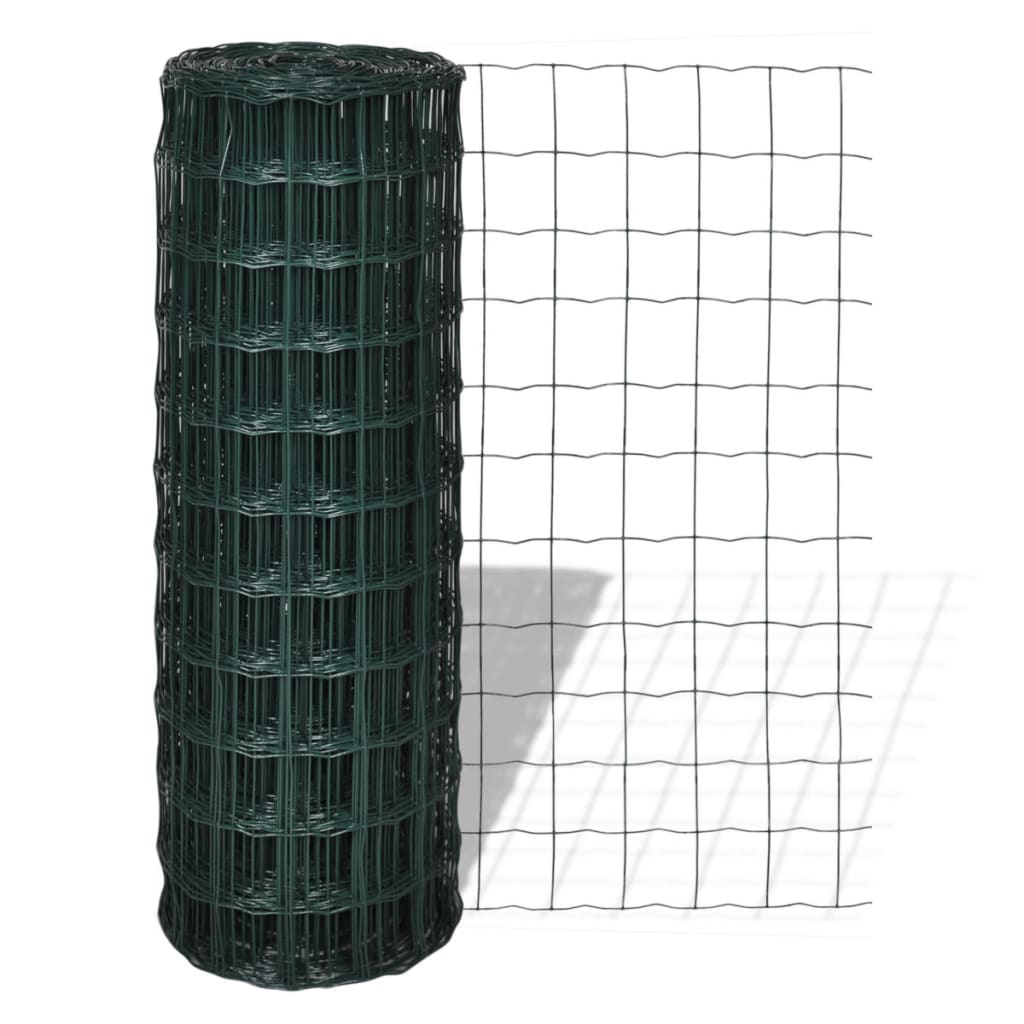 vidaXL Euro Fence 10 x 1,8 m with 76 63 mm Mesh