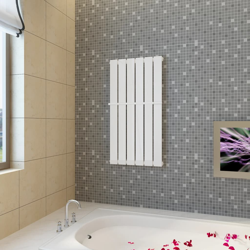 Handtuchstange design handtuchhalter heizk rper 465mm for Handtuchhalter design