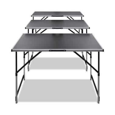 articoli per 3x tavolo da lavoro pieghevole altezza regolabile. Black Bedroom Furniture Sets. Home Design Ideas