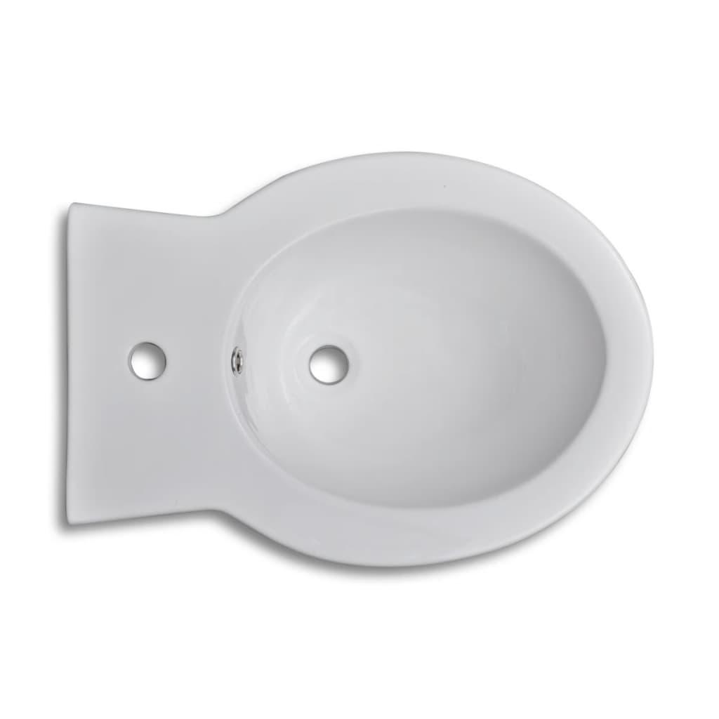 vidaXL-Round-Bidet-Stand-White-High-quality-Ceramic-Bathroom-Wall-Hung-Sink