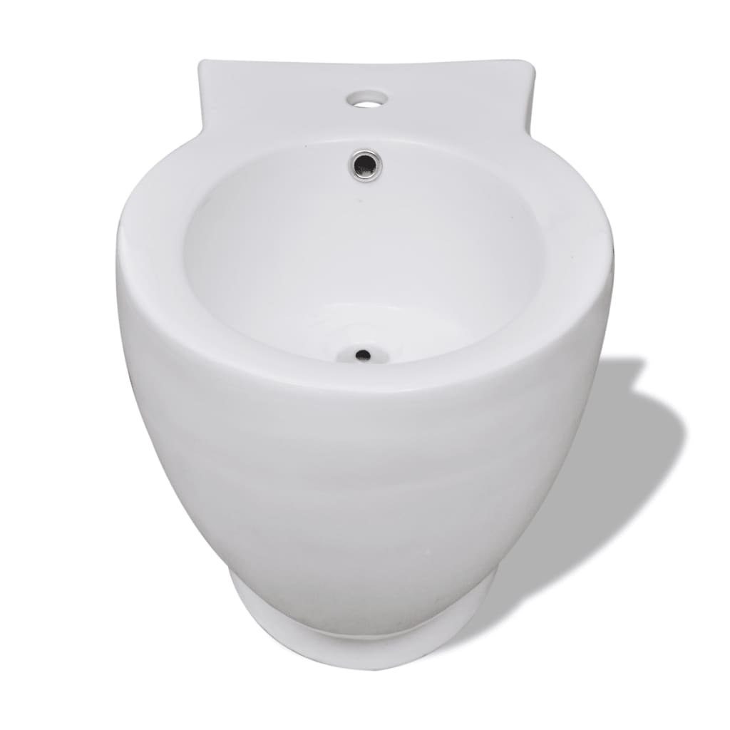 round bidet stand white high quality ceramic. Black Bedroom Furniture Sets. Home Design Ideas