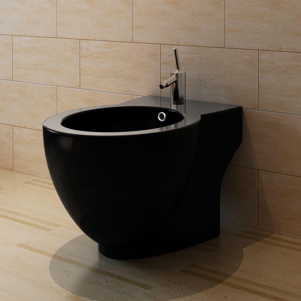bnew stand toilet bidet high quality ceramic white. Black Bedroom Furniture Sets. Home Design Ideas