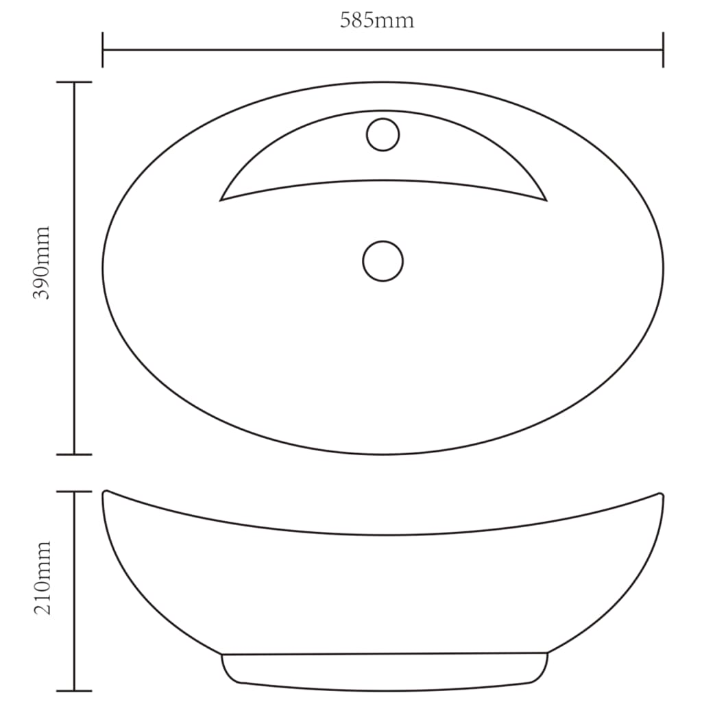 vidaXL-Ceramic-Basin-Oval-with-Overflow-Faucet-Hole-Countertop-Bathroom-Sink