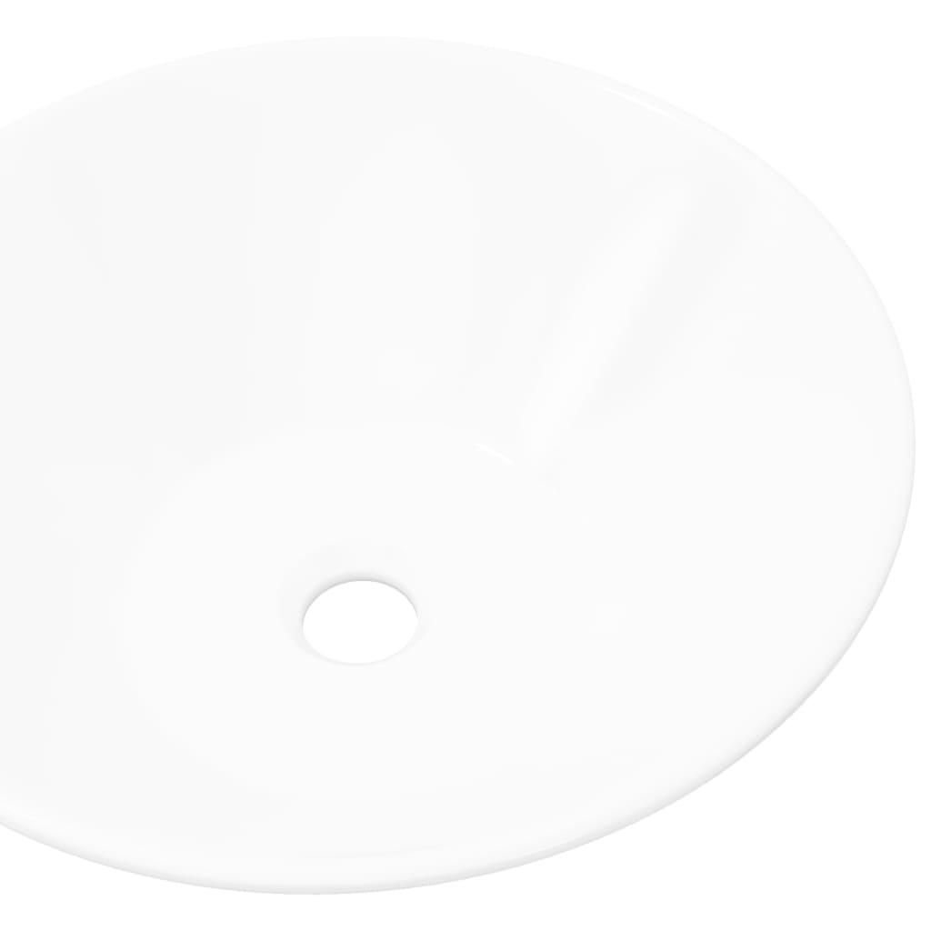vidaXL-Lavabo-de-Ceramica-Porcelana-de-Cuarto-de-bano-Blanco-Arte-Bol-Blanco