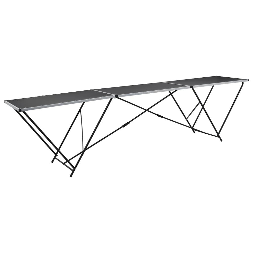 Acheter table tapissier en aluminium et en acier pas for Table en acier