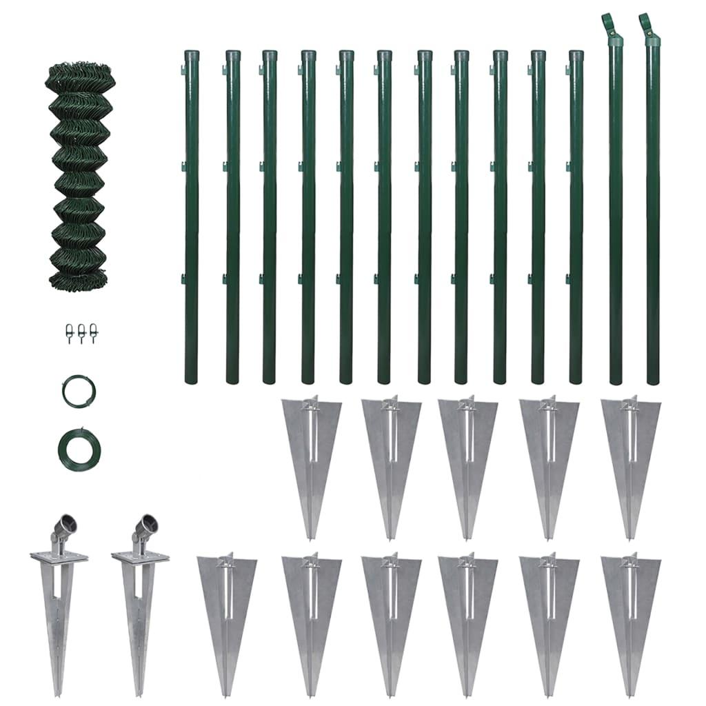 Staket stängsel staket : Handla vidaXL Stängselpaket 1,0 x 25 m | vidaXL.se