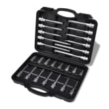 12-Point Bit Set Case Socket Set Tool Box Tool Kit 26 pcs