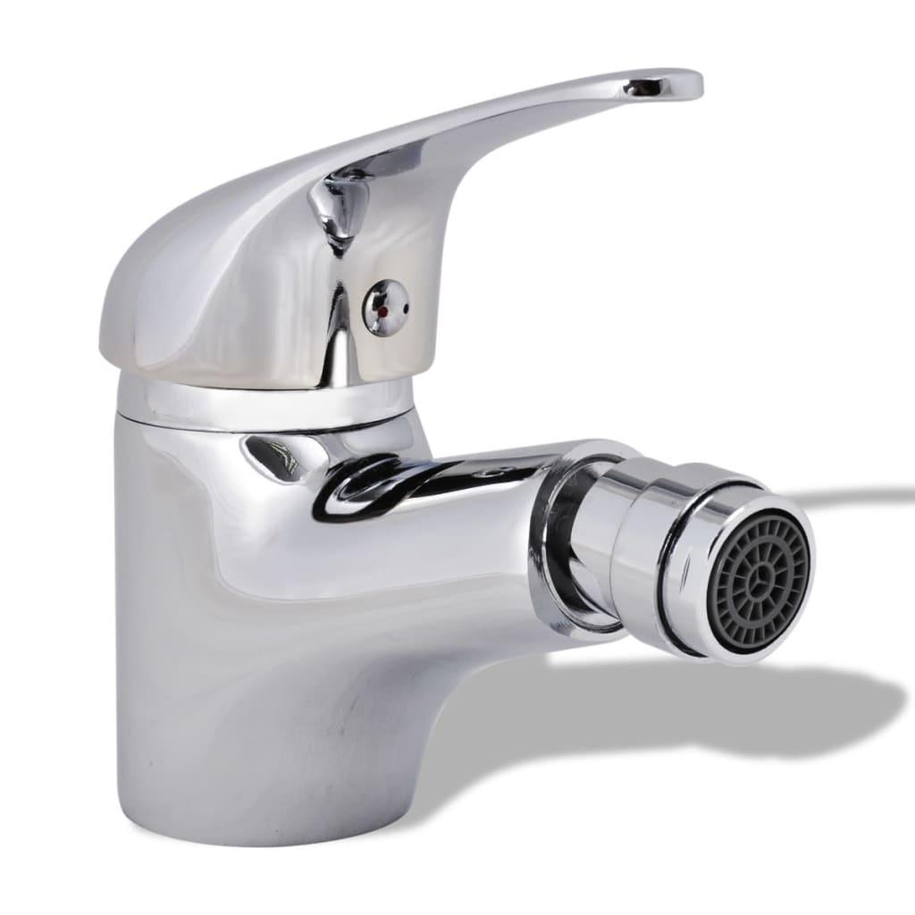 vidaXL krómozott fürdőszoba bidé csaptelep