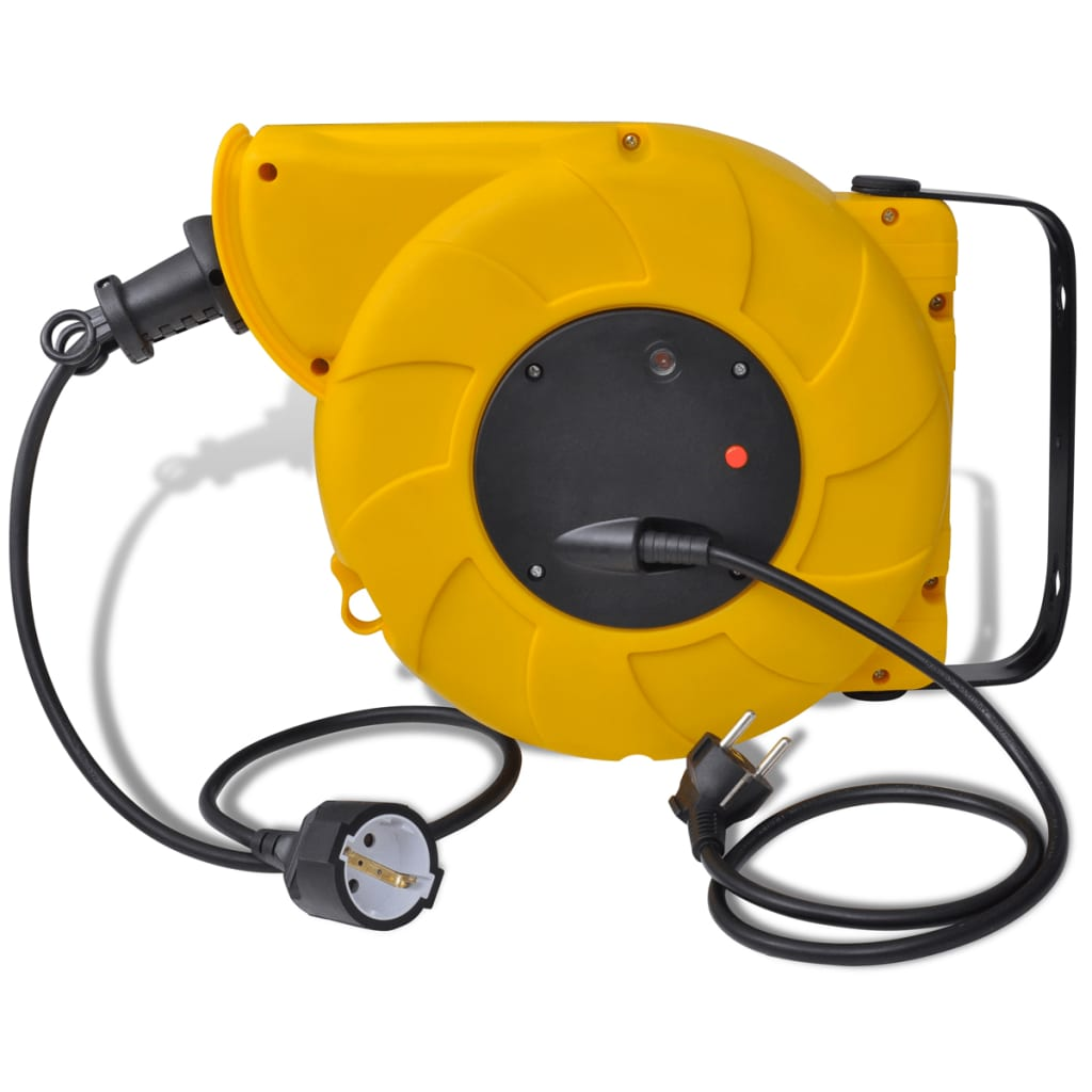 Automatic Retractable Power Cable Reel 14 1 M Steel