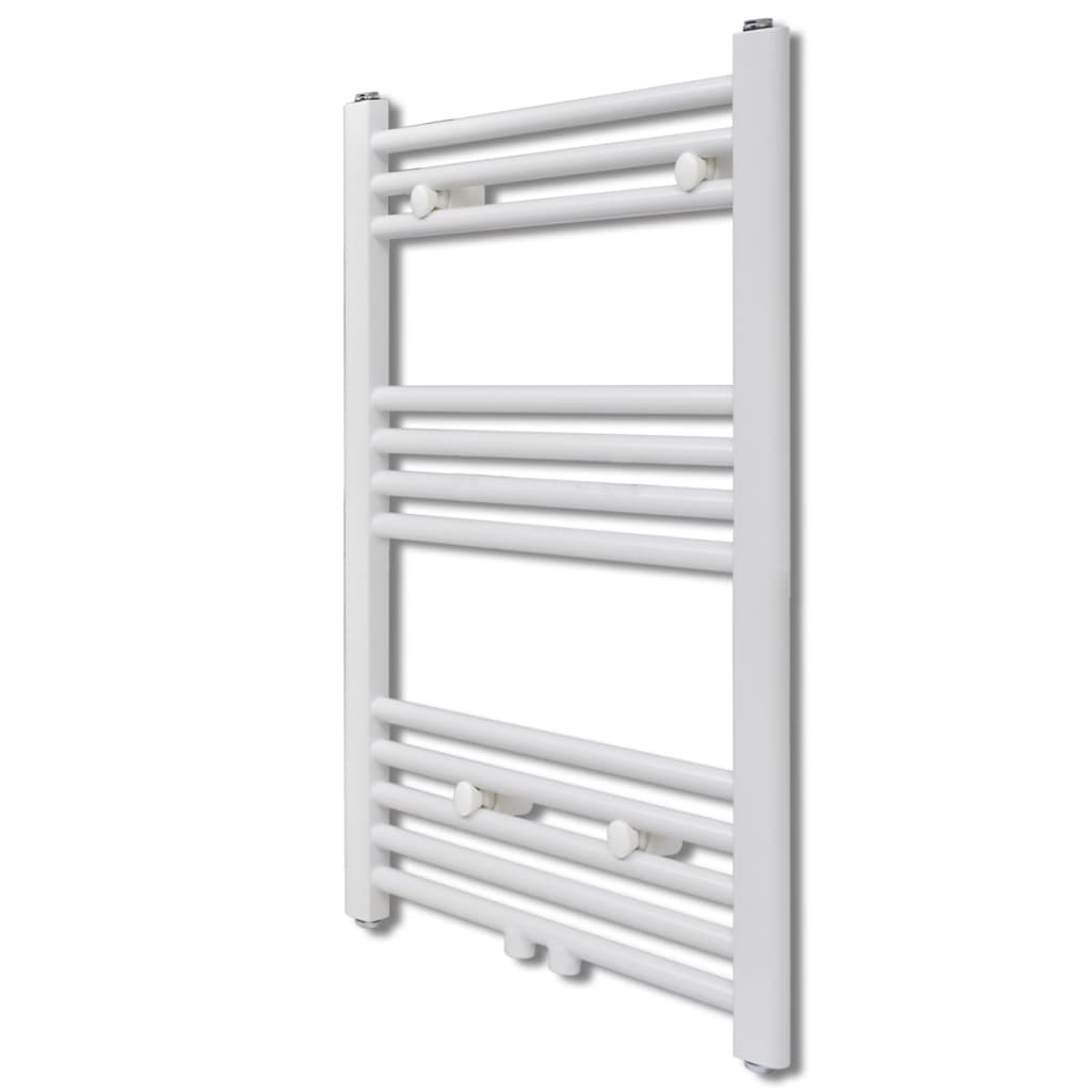 Bathroom central heating towel rail for Radiateur chauffe serviette salle de bain