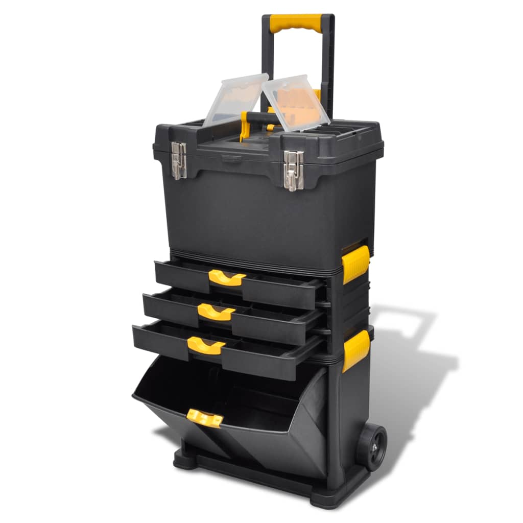 acheter trolley outils servante valise de rangement pas cher. Black Bedroom Furniture Sets. Home Design Ideas