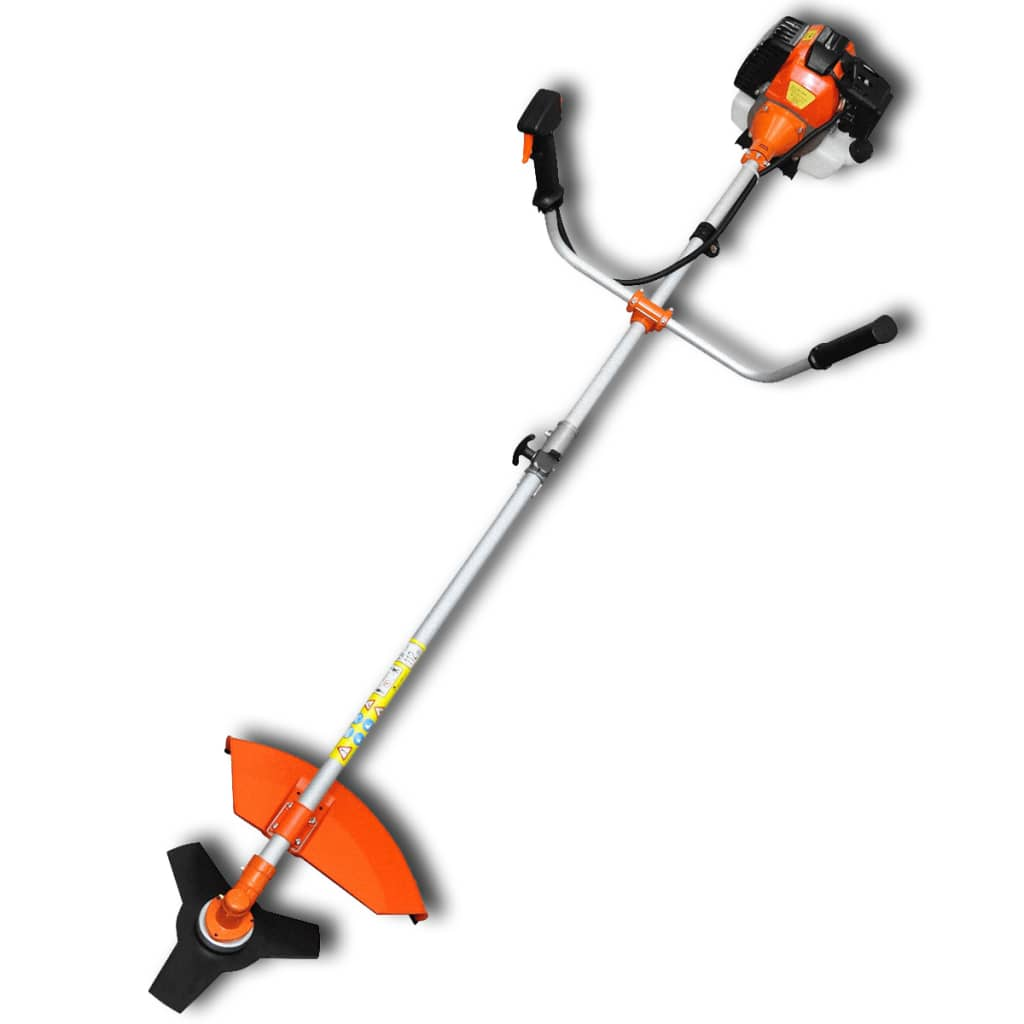 vidaXL narancssárga bozótvágó, szegélynyíró 51, 7 cm3, 2,2 kW