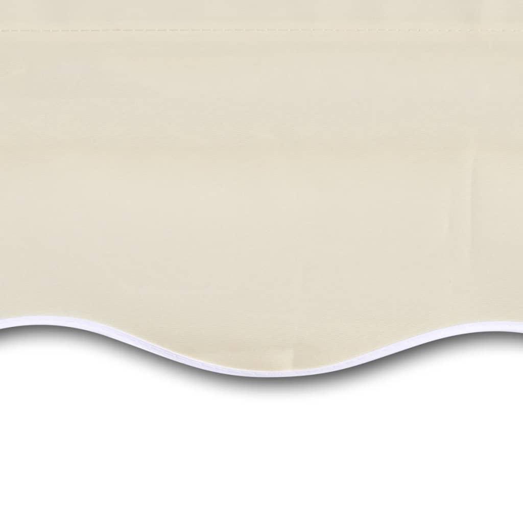 Canvas-zonnescherm-met-luifel-6-x-3-m-creme-exclusief-frame-zonnekap