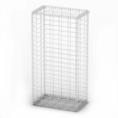 Gabion Basket Wall with Lids Galvanized Wire 100 x 50 x 30 cm[2/4]