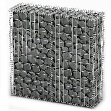 Gabion Base pour mur 100 x 100 x 30 cm[1/4]