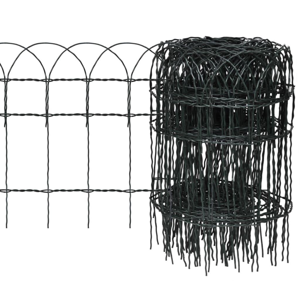 Trädgårdsstaket expanderbar 10×0,4m