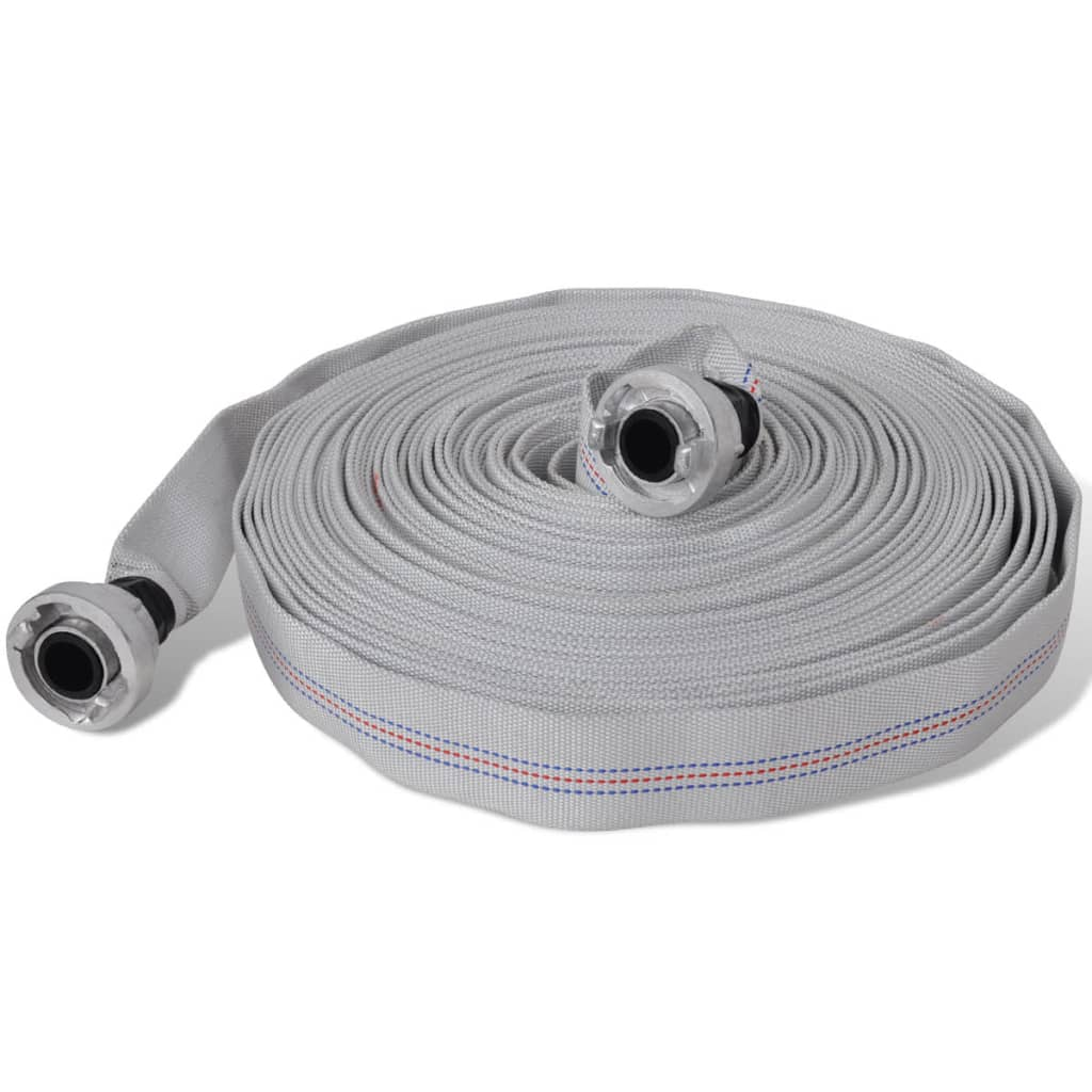 vidaXL Fire Hose Flat 30 m with D-Storz Couplings 1 Inch