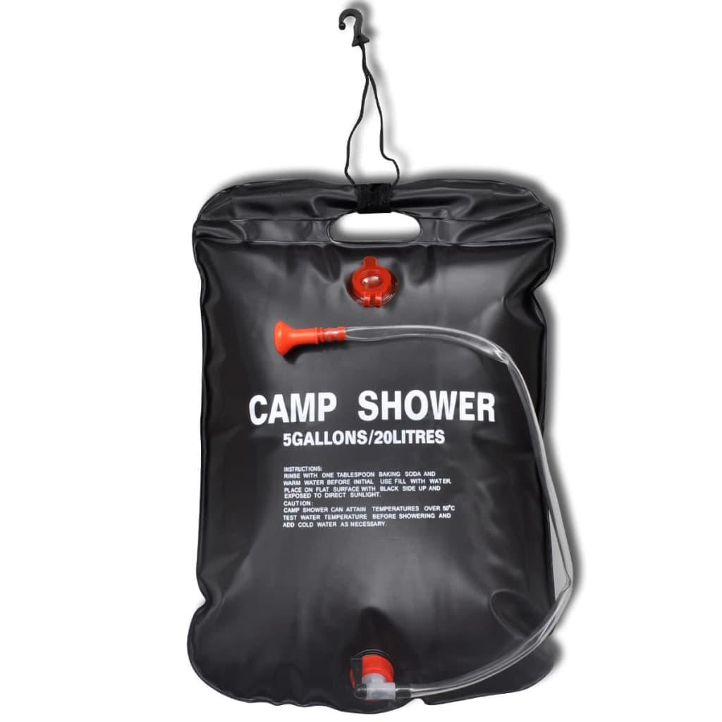 Ducha solar de 2 unidades de 20 litros tienda online - Duchas portatiles camping ...